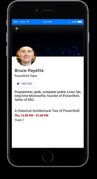 eventRAFT App - Event Team Screen