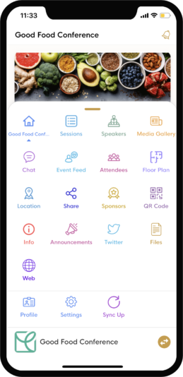 eventRAFT Mobile App - Preview