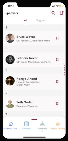 Speaker Bio - eventRAFT - event mobile app