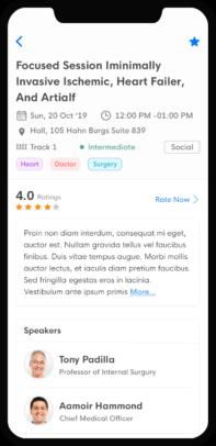 eventRAFT - Session Details